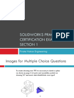 SolidWorks Practice Test Part 1