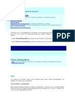 Organizacion de Fichas