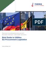 Achilles Brief Guide to Utilities Eu Procurement Legislation