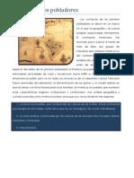 1.6.1 Desarrollo Sociocultural de Las Sociedades Del México Antiguo
