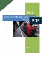 Timecard Layout Modification - ERPWebTutor