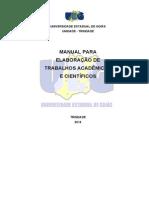 Manual Para Elaboração de Trabalhos Acadêmicios e Científicos UEG
