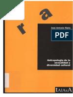 Antropologia de La Sexualidad y Diversidad Cultural - José Antonio Nieto