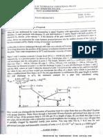 Hydraulics and Fluid Mechanics Exam Papers 2011-2012