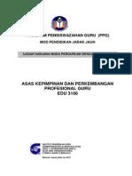 Modul Ppg Edu 3083 Asas Kepimpinan Dan Perkembangan Profesional Guru