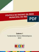 Política de ensino da rede municipal de recife