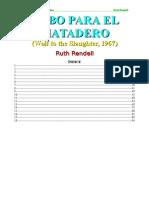 Rendell Ruth - Lobo Para El Matadero