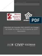 MNC Rapport Enquete Mobile 2014
