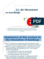 Lecture 11 Air Exchange