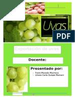 Exportaciones de Uvas