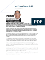 16/01/2015 Sigue San Luis Potosí, Vecino de 10 Estados