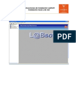 Instalaci+¦n Labsoft local y en red