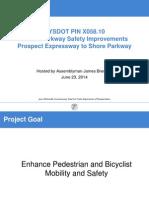 NYS DOT Ocean Parkway Improvements June 2014