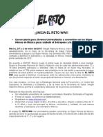 Convocatoria para Jóvenes Universitarios a convertirse en los SúperHéroes de México para combatir el Sobrepeso y la Obesidad.