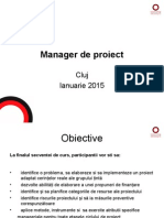 Manager de Proiect Suport Curs 2015i