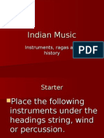 Indian Music Powerpoint