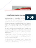 15-01-15 Fortalecen priistas sonorenses plataforma política