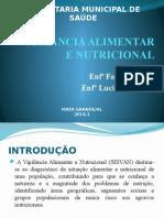Vigilância Alimentar e Nutricional