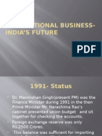 International Business- India's Future