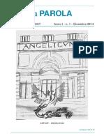 La Parola - I Numero - 1st issue