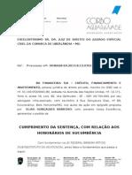 EXECUÇÃO DE HONORÁRIOS SUCUMBENCIAIS