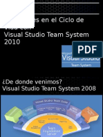 Novedades de Visual Studio 2010