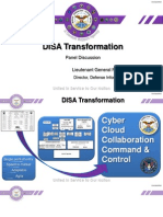 DISA Reorg Slides - AFCEA Washington DC 12 January 2015