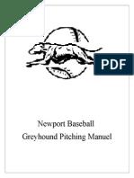 newport baseball pitching  manuel