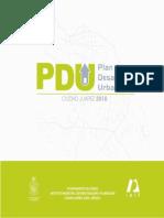 Plan de desarrollo urbano ciudad juarez  2003