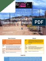 Voluntarios Espacios Públicos FAV2015