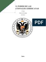 EL PODER DE LAS MULTINACIONALES AMERICANAS