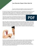 Dieta Para Ganar Masa Muscular Magra O bien Libre De Grasa
