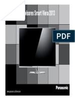 Dossier Panasonic Viera Tv 2013