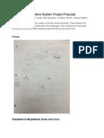 digestivesystemprojectproposal