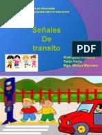Señales de Transito, origen, demarcación, significado para niños