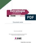 Estrategia Capacitación 2014-2015