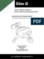 Manuel Aspirateur Automatique