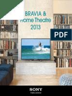 Sony Bravia 2013 Brochure