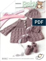 BHKC - 47 - Matiness Coat, Booties, Bonnet