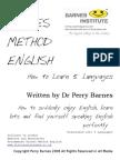 How to Learn 5 Languages @ Barnes Method English Metodo Barnes Ingles
