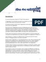 Organisation Des Entreprises - 78p (2014-2015) 1ère Bac Droit