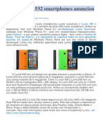 Lumia 435 e 532 Smartphones