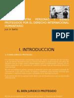 Delitos Contra Las Personas y Bienes Protegidos Por El Dih