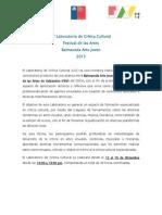 Lab de Crítica Cultural 2015 v.2