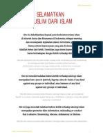 Selamatkan Muslim Dari Islam
