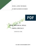 Drept Procesual Penal Parte Speciala