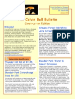 The Calvin Ball Bulletin Construction Edition January 2015