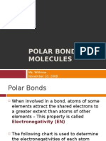 Polar Bonds and Molecules 97-03