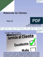 Tema 10 Retención de Clientes