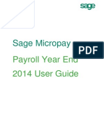Micropay Professional PYE User Guide